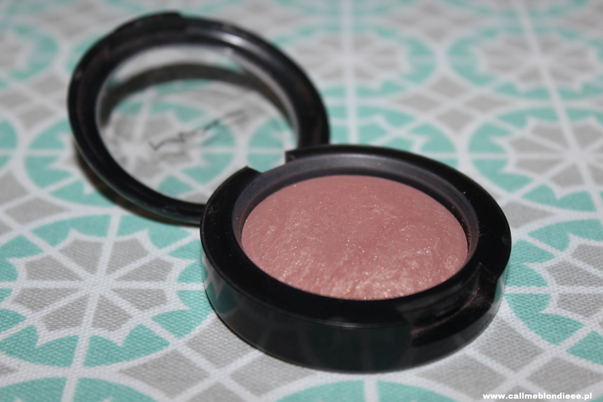 FOTD - MAC Mineralize Blush Warm Soul