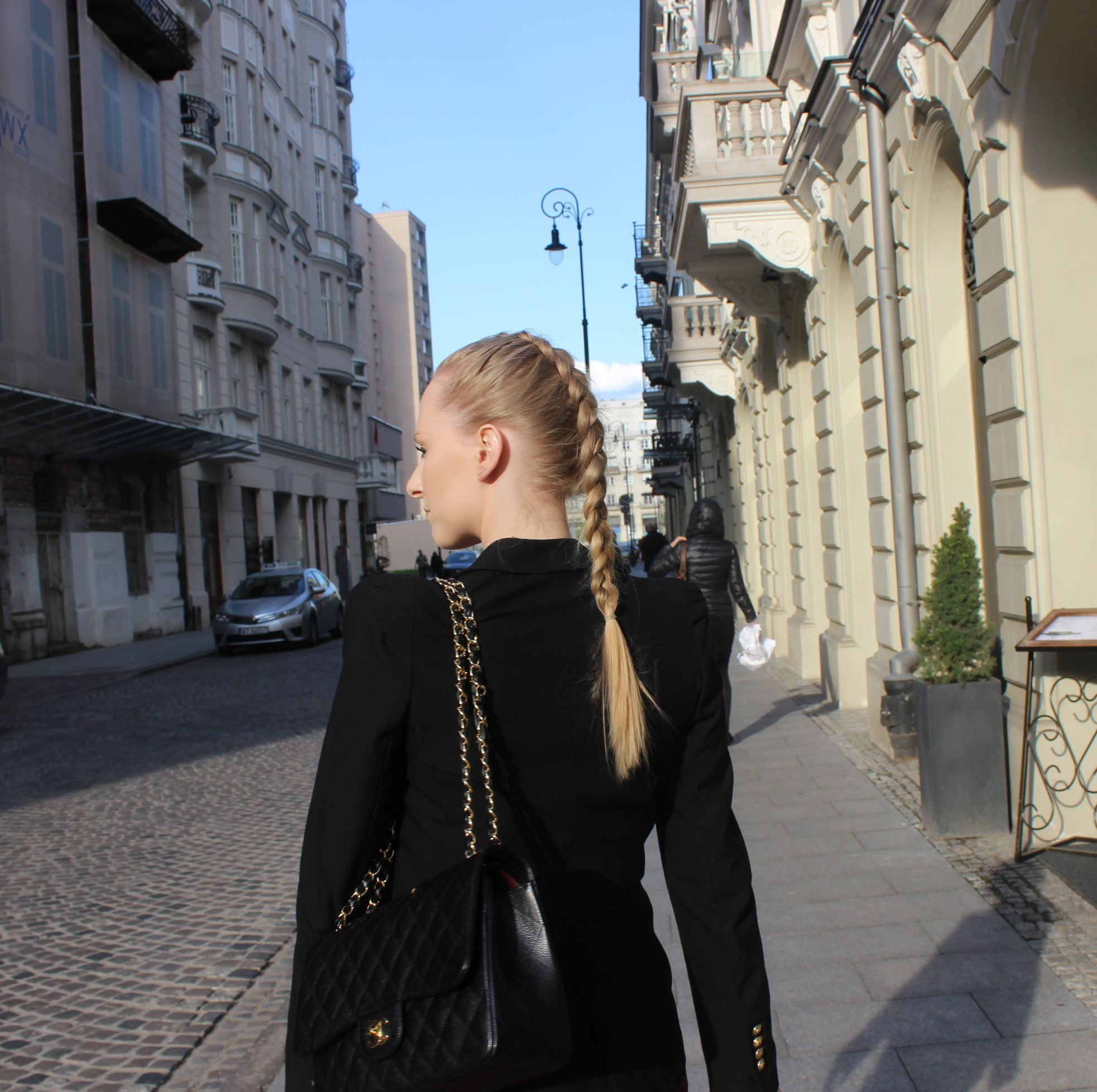 OOTD Black Lace Top 7