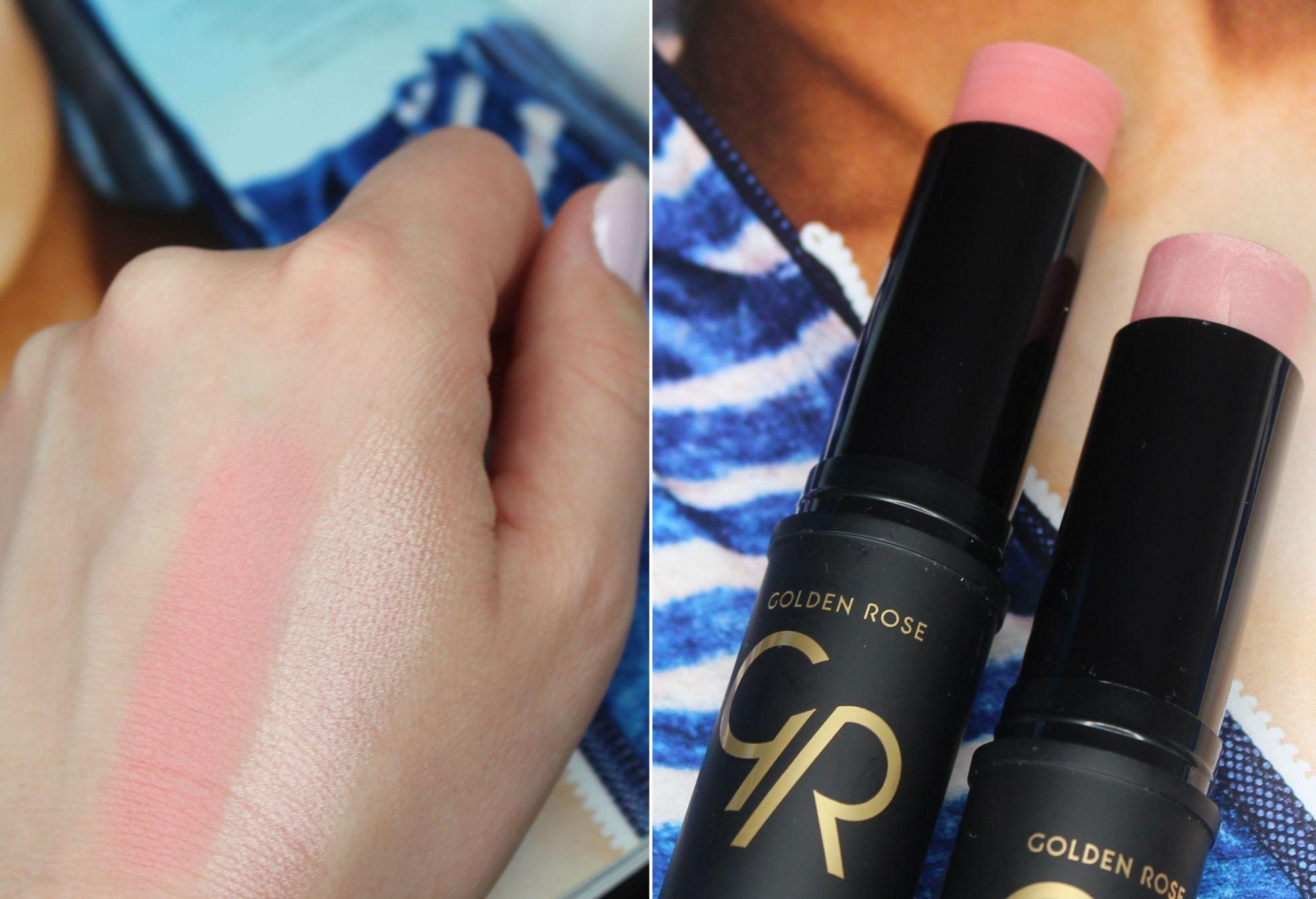 Golden Rose Creamy Blush & Highlighter Stick 2