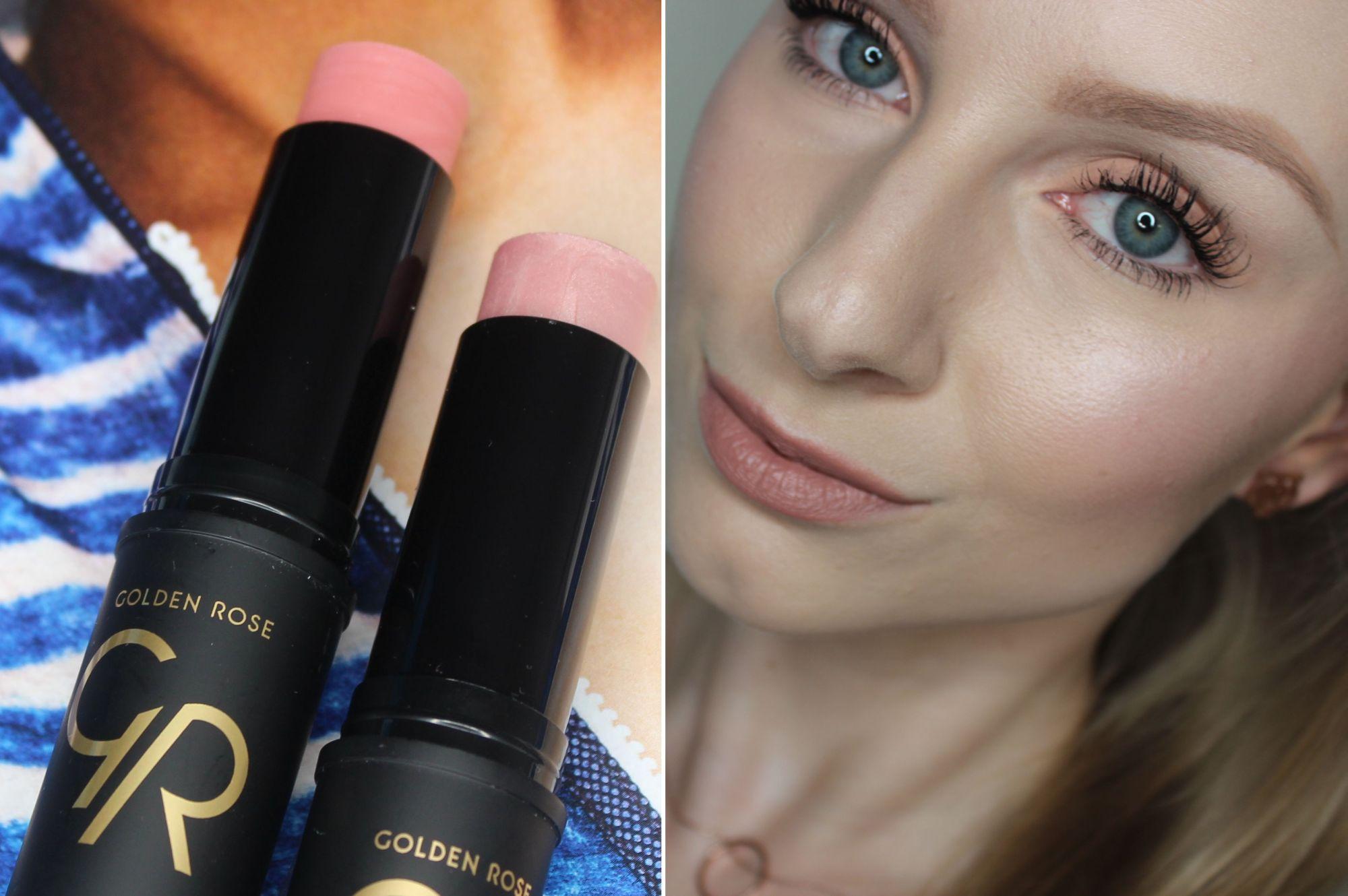 Golden Rose Creamy Blush & Highlighter Stick 4