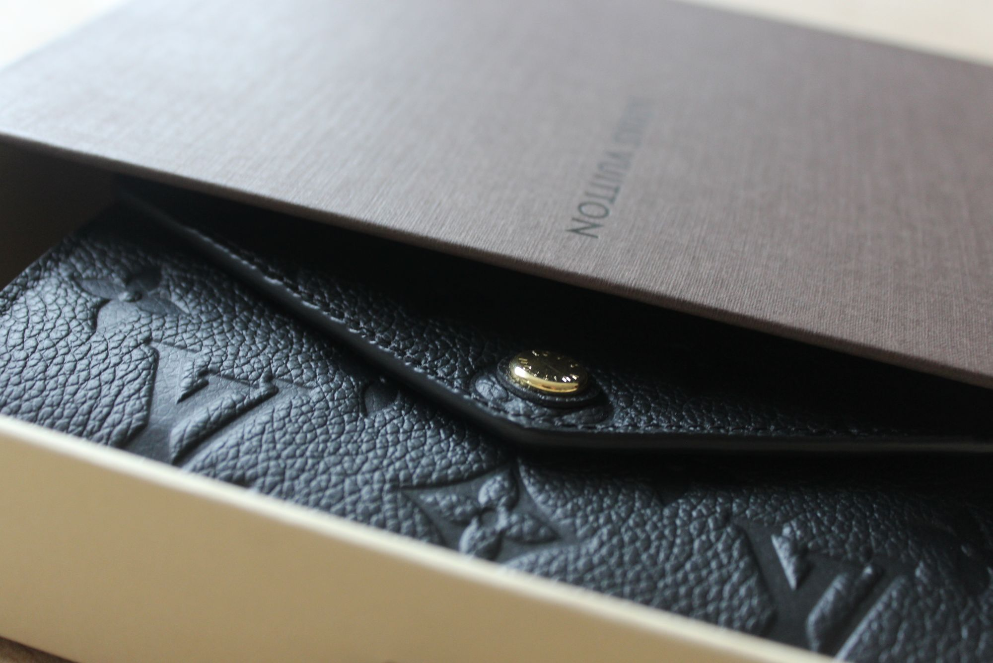 LV Compact Curieuse Wallet in Monogram Empreinte Leather 1