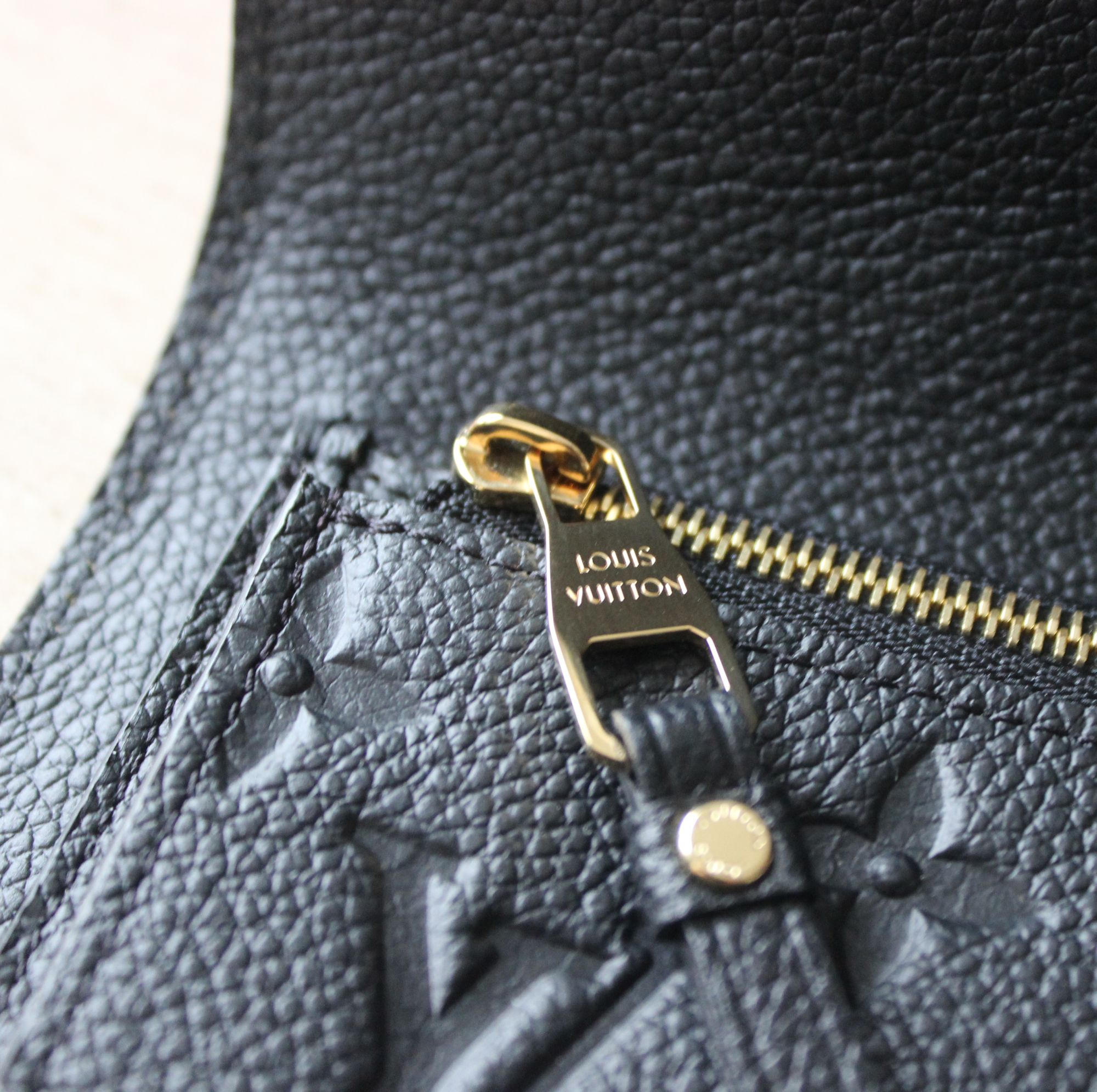 LV Compact Curieuse Wallet in Monogram Empreinte Leather 2