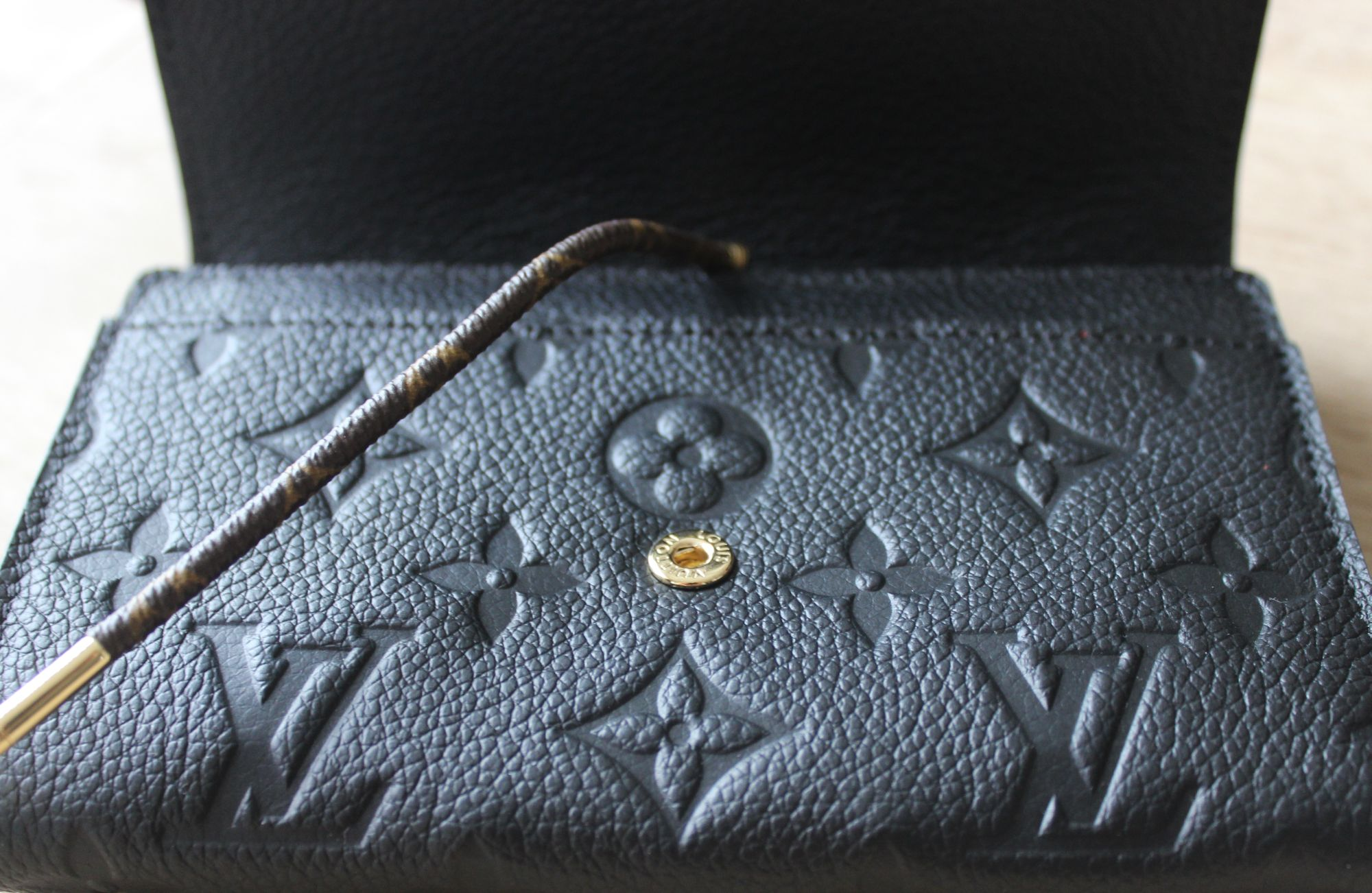 LV Compact Curieuse Wallet in Monogram Empreinte Leather 5