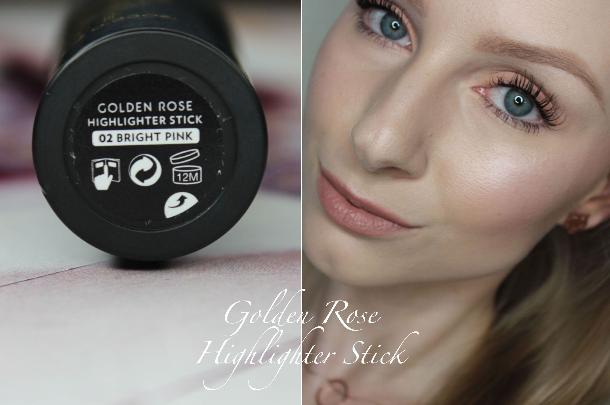 TOP 16 - Golden Rose Highlighter Stick in 02 Bright Pink 2