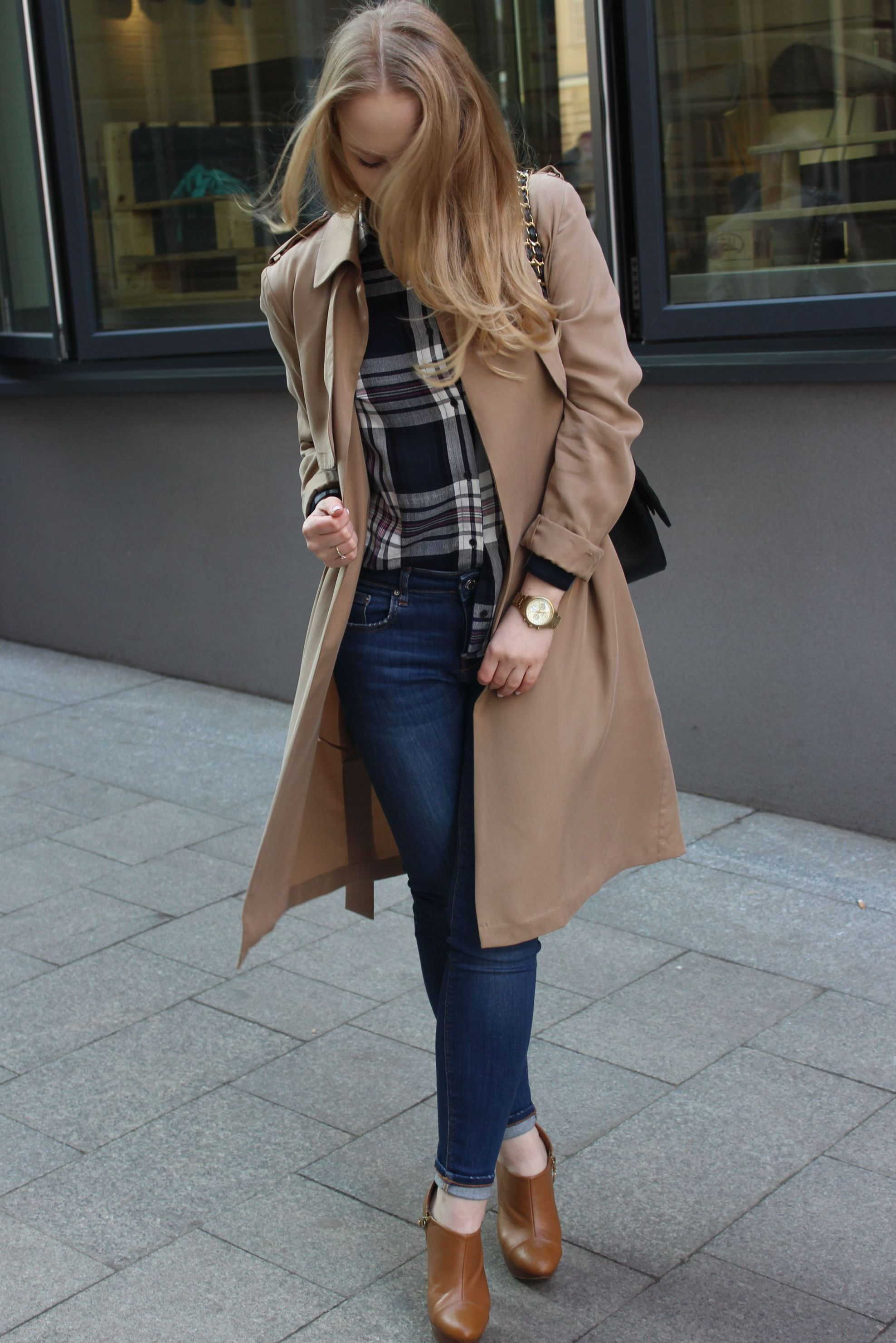 TOP 16 - New Look Camel Coat 1
