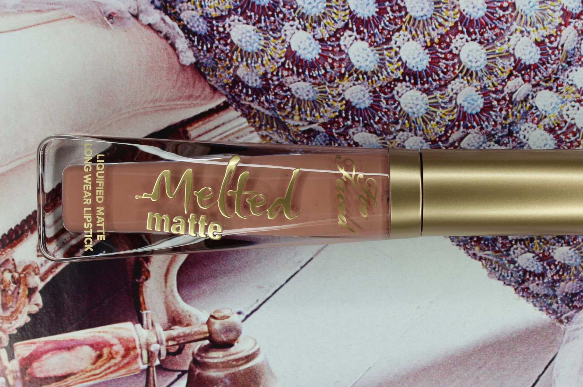 TOP 16 - Too Faced Melted Matte Lipstick in Child Star 1