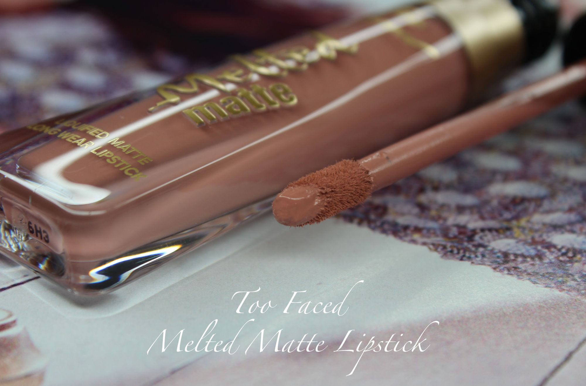 TOP 16 - Too Faced Melted Matte Lipstick in Child Star 2