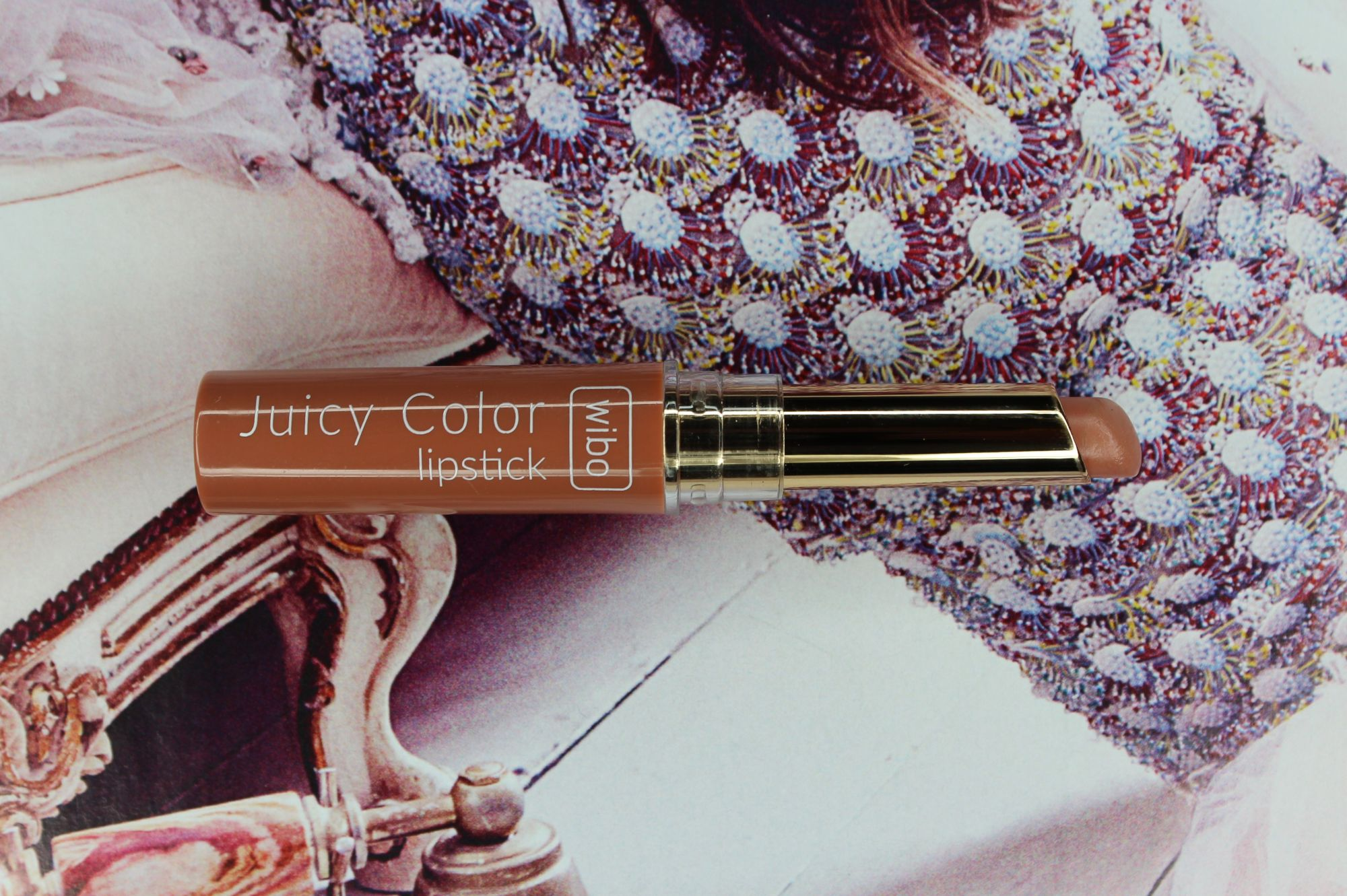 TOP 16 - Wibo Juicy Color Lipstick in 6 3