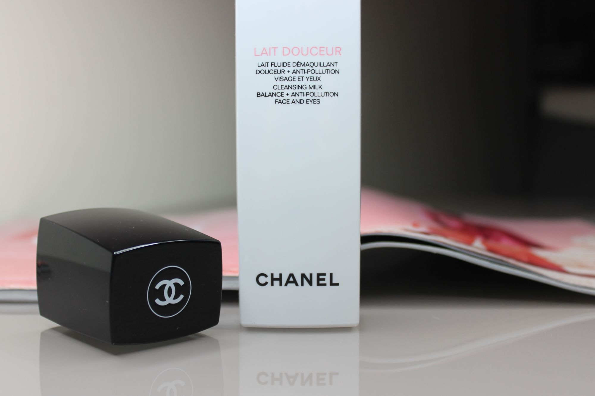 Chanel Cleansing Milk Balance + Anti Pollution Face and Eyes