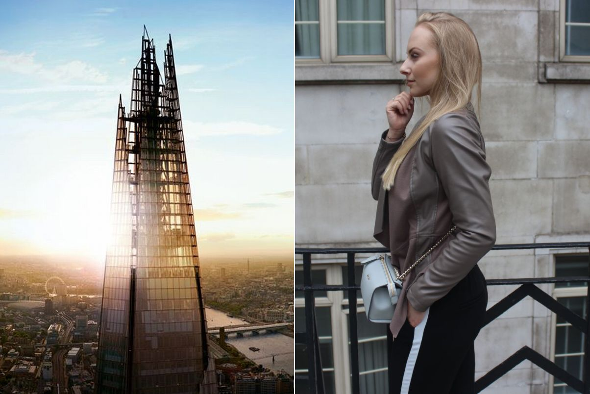 My ultimate LONDON LOOK at the base of THE SHARD 1