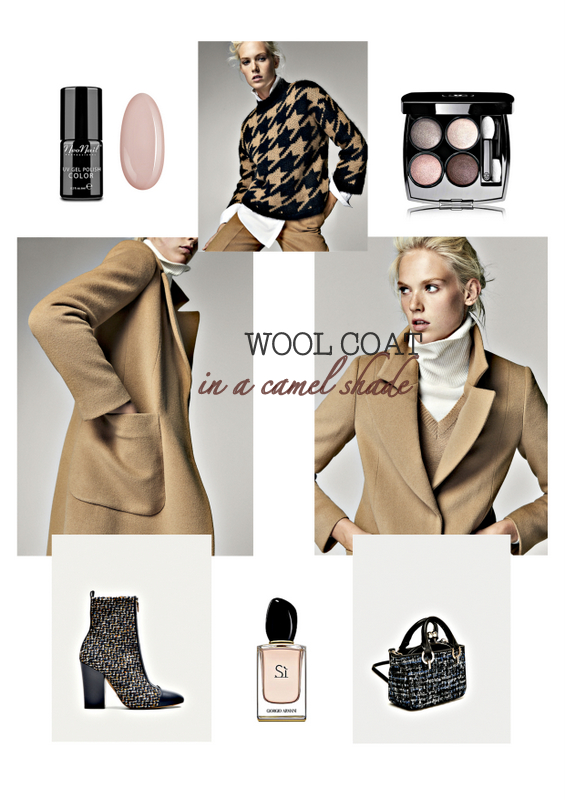 FALL TRENDS - WOOL COAT in a cmel shade