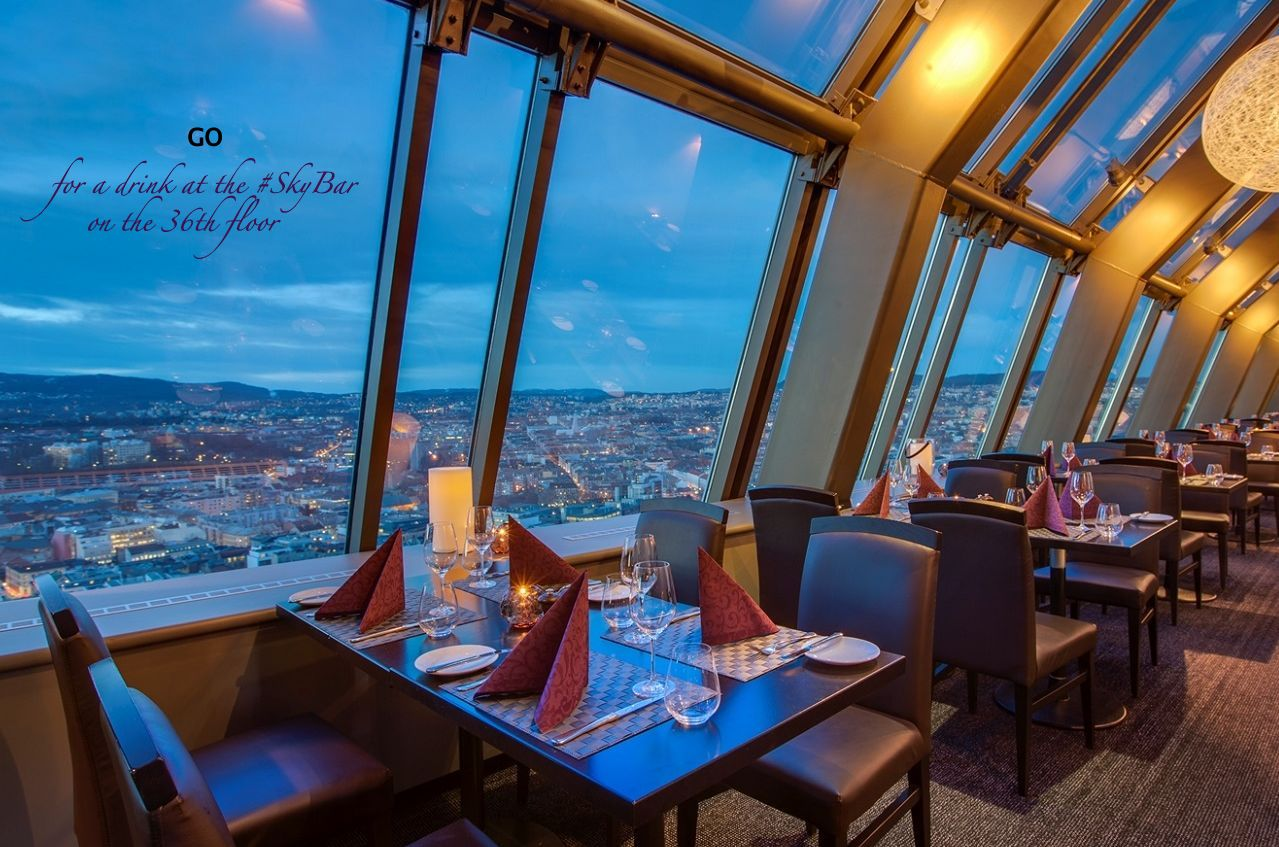 GO for a drink at the #SkyBar at the 36th floor