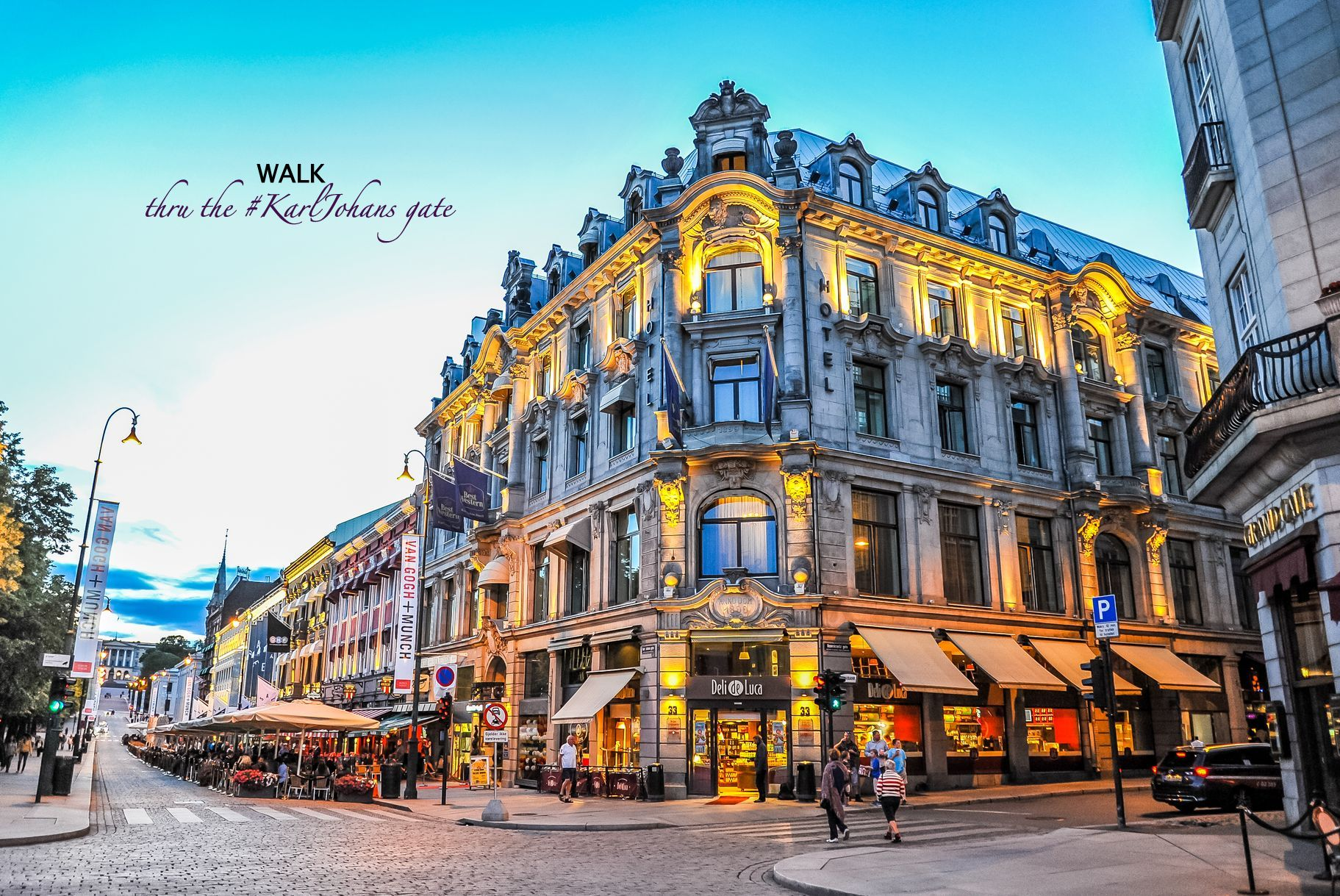 WALK thru the #KarlJohans gate