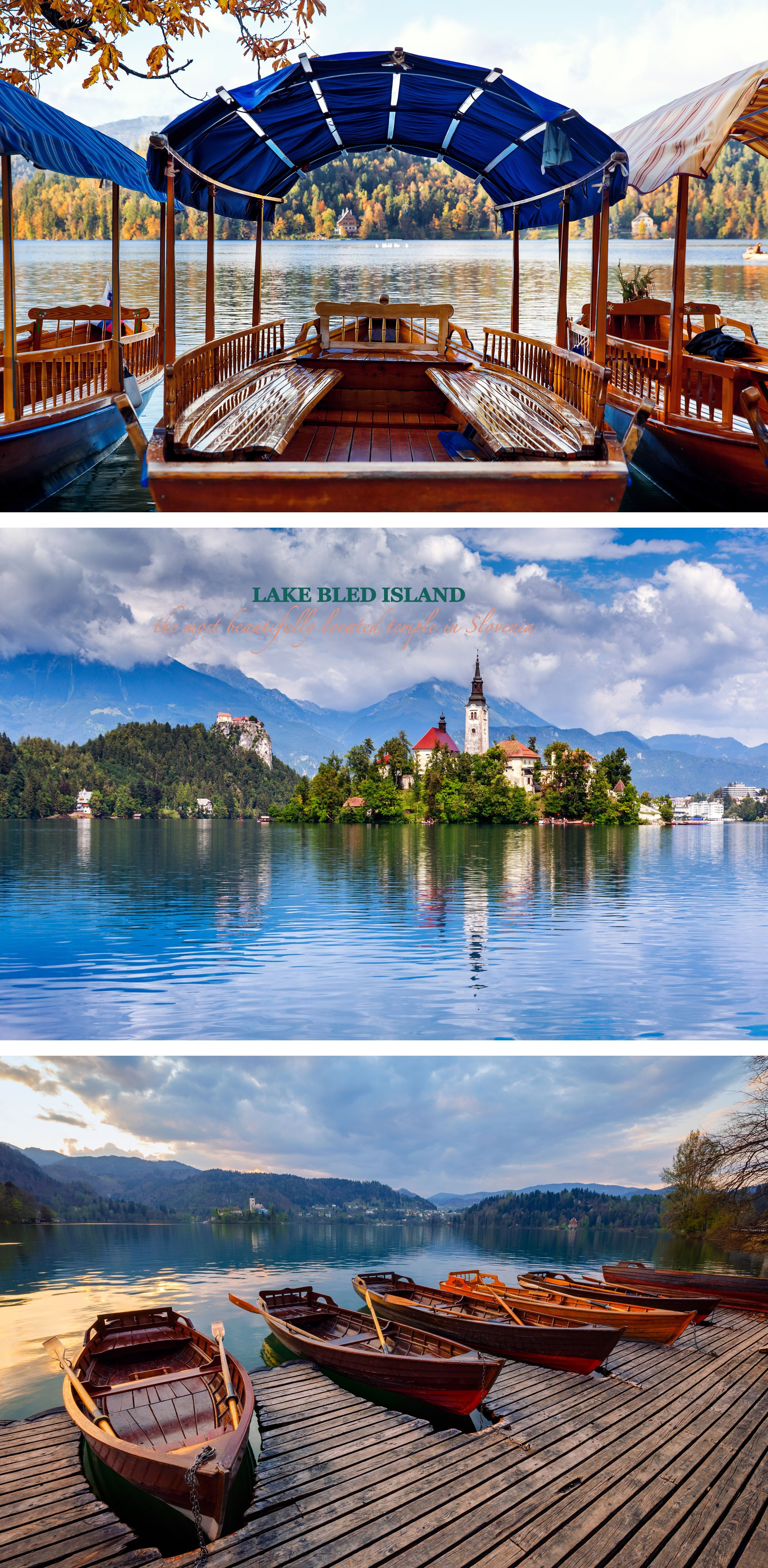 LAKE BLED ISLAND the most beautifully located temple in Slovenia