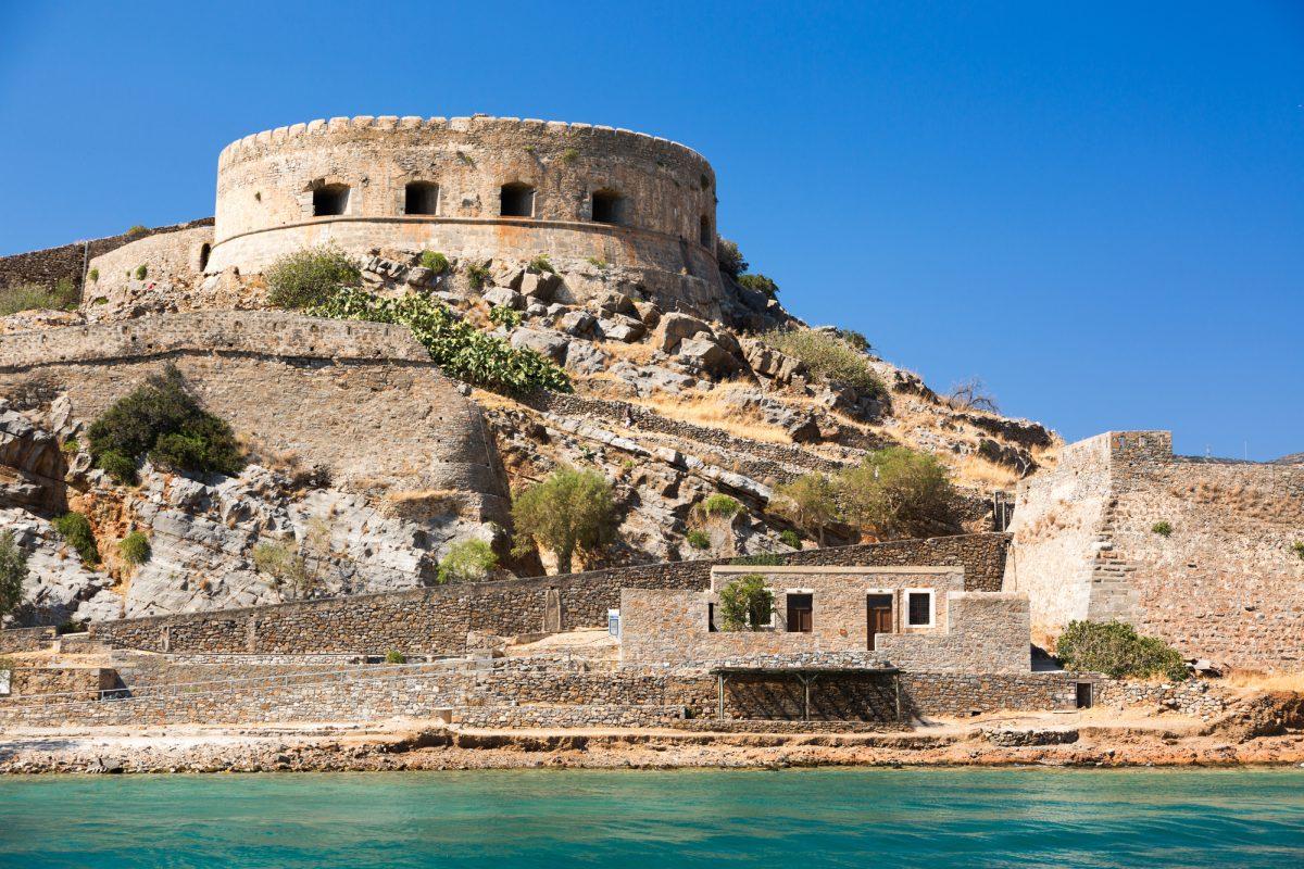 Spinalonga Island. Crete. Greece.