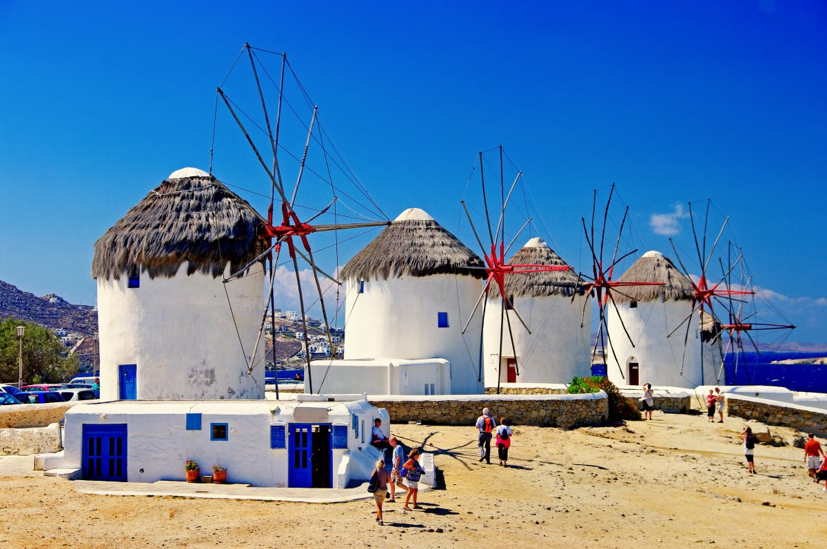Windmills 1 :: Mykonos ::