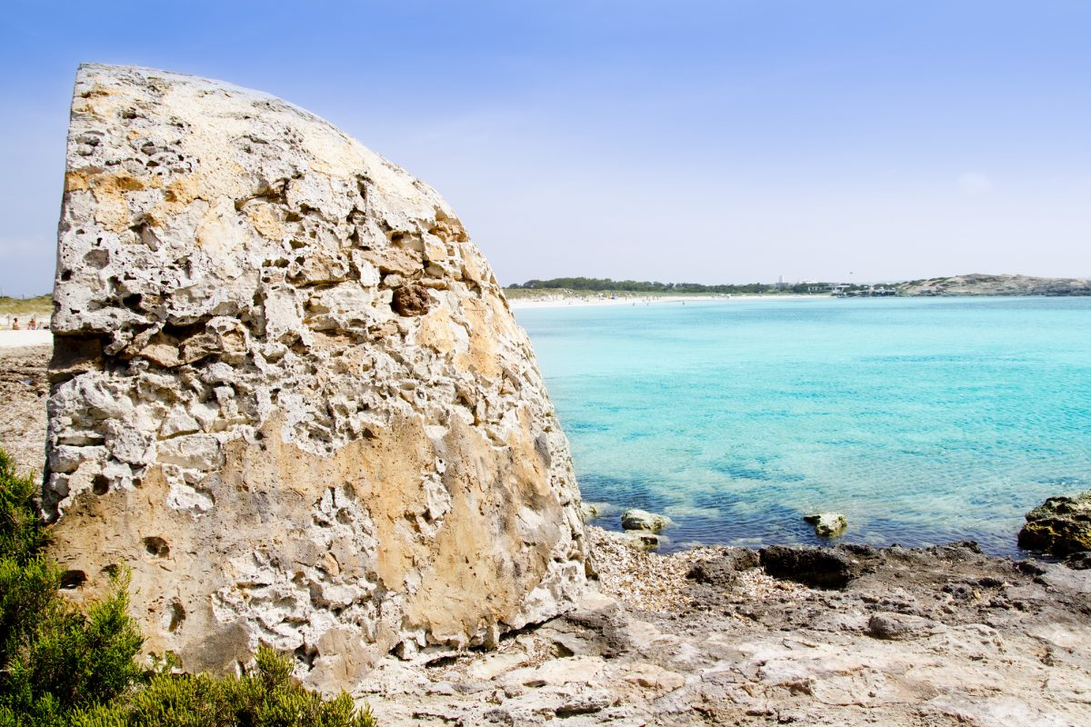 Formentera illetes illetas beach turquoise sea Balearic Islands
